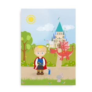 Plakat til drenge med iltbrille - CCHS Princess blond - Someone Rare