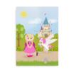 Plakat til piger med iltbrille - CCHS Princess blonde - Someone Rare