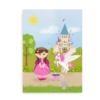 Plakat til piger med respirator og tracheostomi - CCHS Princess brown hair - Someone Rare
