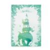 Safariplakat med navn grøn og blå