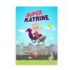 Superhelt i kørestol - Plakat til piger i kørestol