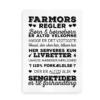 Farmors regler sort-hvid 2