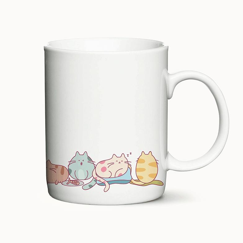 Coffee Cats - krus med katte