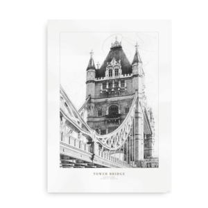Tower Bridge - plakat