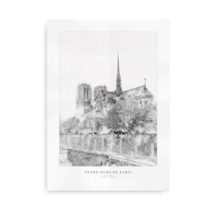 Notre Dame Paris - plakat