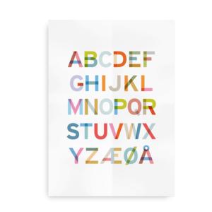 Alfabeto - alfabetplakat