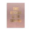 This kitchen is for dancing - plakat til køkken